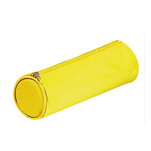 PAGNA Astuccio Tombolino Basic con cerniera - 22x8D8cm - giallo - Durable