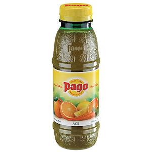PAGO Bouteille jus ACE : orange, carottes, citron 33 cl (Lot de 12 bouteilles)