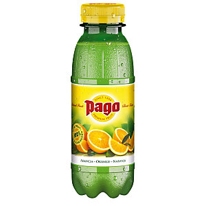 Pago Bouteille jus d'orange pur jus 33 cl (lot de 12 bouteilles)