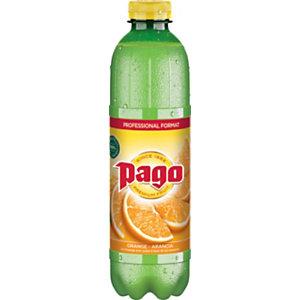 Pago Jus d'orange avec pulpe - Lot de 6 Bouteilles 1 L