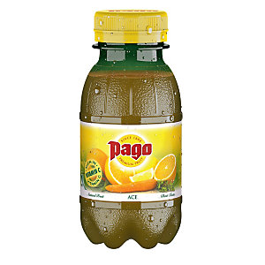 Pago Succo di frutta Sapore ACE Bottiglia da 20 cl (confezione 12 pezzi)