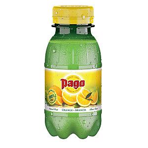 Pago Succo di frutta Sapore Arancia, Bottiglia da 20 cl (confezione 12 pezzi)
