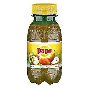 Pago Succo di frutta Sapore Pera Bottiglia da 20 cl (confezione 12 pezzi)