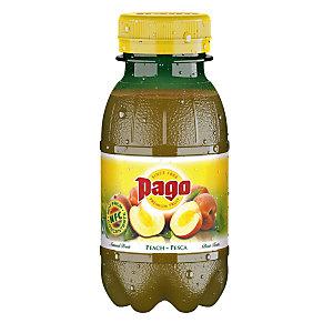 Pago Succo di frutta Sapore Pesca Bottiglia da 20 cl (confezione 12 pezzi)