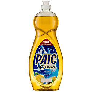 PAIC Liquide vaisselle main concentré citron - Flacon 750 ml