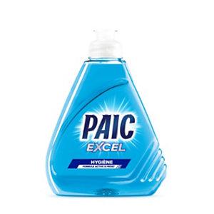 PAIC Liquide vaisselle main Excel+ Antibactérien , Flacon 500 ml - Bleu