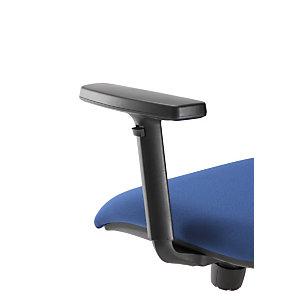 Paire accoudoirs pour siège Tekna 3D - Noir