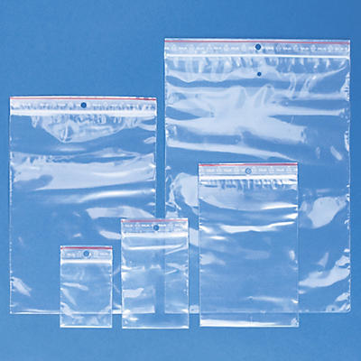 Pakke med 1000 lynlåsposer- 5 forskjellige formater i 60 my - Raja Super