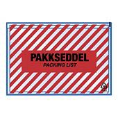 "Pakkseddellommer - 60 my - med trykk ""zebra"""