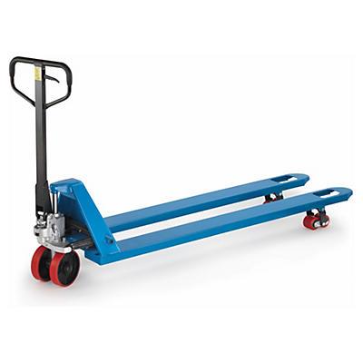 Paletový vozík s dlouhými vidlicemi