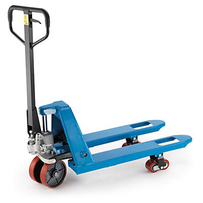 Paletový vozík s krátkymi vidlicami