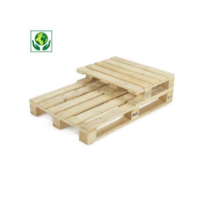 Palette bois pour charges mi-lourdes##Houten pallet voor middelzware ladingen