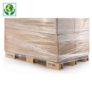 palette carton KAYPAL, plateau triple cannelure