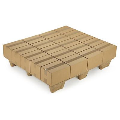 Pallanpassade lådor av enwell - kombineras enkelt på EUR-Pall