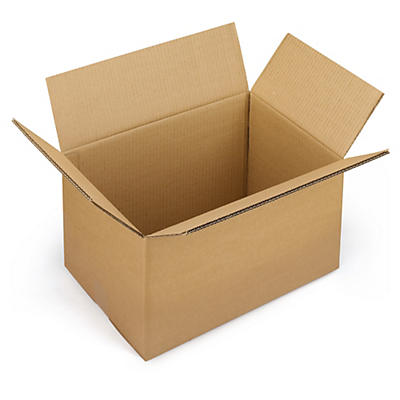 Palletilpassede papkasser i dobbelt bølgepap