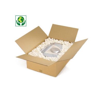 Palletiseerbare kartonnen dozen in dubbelgolfkarton