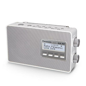 Panasonic, Audio portatile / hi fi, Radio dab+  splash proof, RF-D30BTEG-W