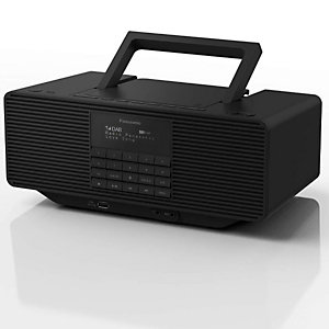 Panasonic, Audio portatile / hi fi, Radioregistratore cd mp3, RX-D70BTEG-K