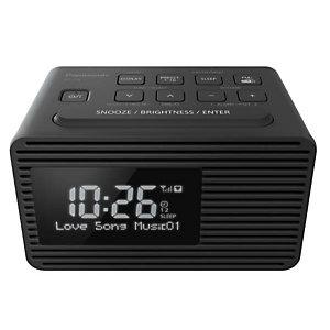 Panasonic, Audio portatile / hi fi, Radiosveglia dab con doppio allarm, RC-D8EG-K