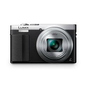 Panasonic, Fotocamere digitali, Tz70 lumix wifi nera e silver, DMC-TZ70EG-S