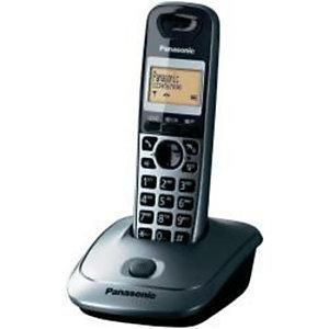 Panasonic, Telefonia fissa, Cordless kx-tg2511jtm metallic, KX-TG2511JTM