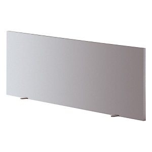 """Panneau écran pour bureau L. 120 cm finition """"Aluminium"""""""