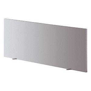 """Panneau écran pour bureau L. 160 cm finition """"Aluminium"""""""