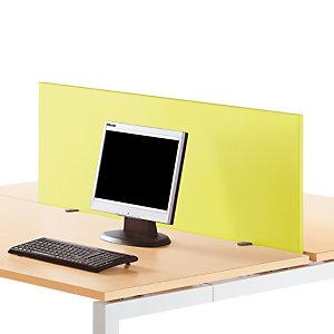 """Panneau écran pour bureau L. 160 cm finition """"Anis"""""""