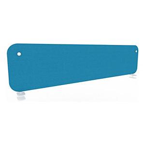 Panneau écran KOUSTIC pour bench - L.160 x H.40 cm - Tissu Bleu clair
