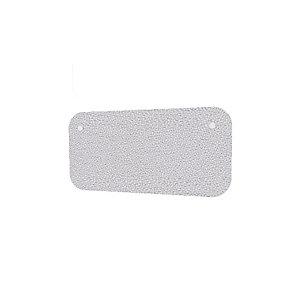 Panneau écran KOUSTIC pour bench - L.160 x H.40 cm - Tissu Gris clair