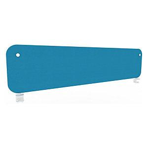 Panneau écran KOUSTIC frontal - L.160 x H.40 cm - Tissu Bleu clair