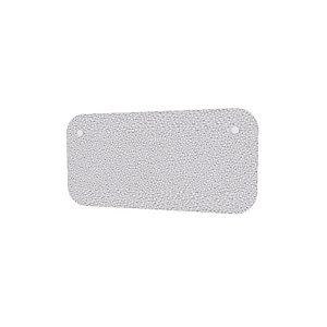 Panneau écran KOUSTIC frontal - L.160 x H.40 cm - Tissu Gris clair