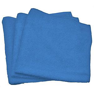 Panno milleusi per tutte le superfici, Microfibra, 35 x 35 cm, Blu (confezione 10 pezzi)