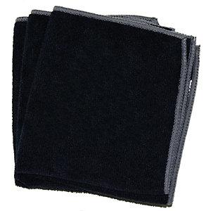 Panno superfici Microcoffee, Microfibra, 32 x 35 cm, Nero (confezione 5 pezzi)