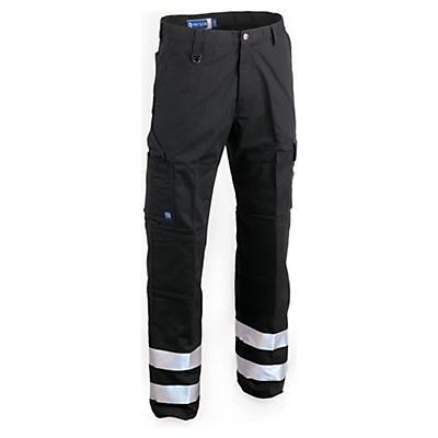Pantalon de travail avec bandes réfléchissantes##Werkbroek met reflecterende stroken
