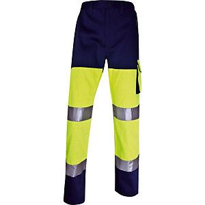 Pantalon de travail haute visibilité Panostyle Delta Plus, Taille XXXL.