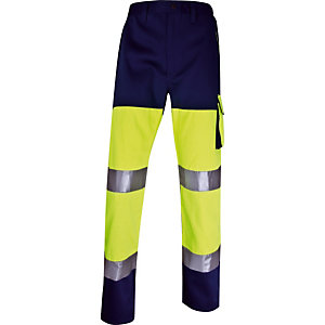 Pantalon de travail haute visibilité Panostyle Delta Plus, Taille S