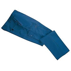 Pantalon de travail type treillis en polycoton, bleu Bugatti, taille 40