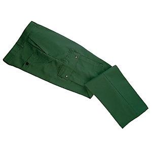 Pantalon de travail type treillis en polycoton, vert US, taille 38