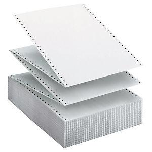 "Papel continuo original, 240 mm x 11"", blanco"
