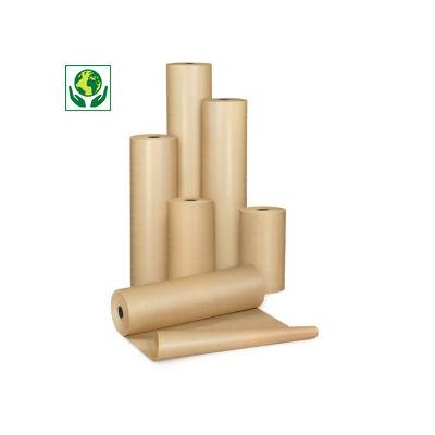 Papel kraft natural em rolo qualidade 72 gr/m² RAJA Super