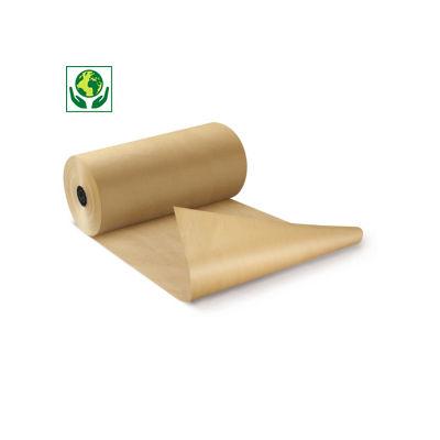 Papel kraft natural em rolo qualidade 90 gr/m² RAJA Super