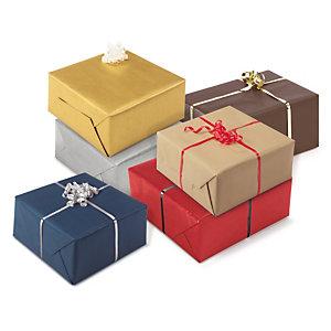 Papel kraft de regalo clásico