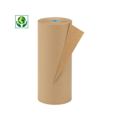 Papel kraft en rollo 100% reciclado RAJA®