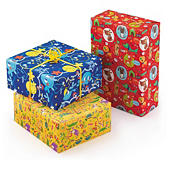 Papel de regalo infantil
