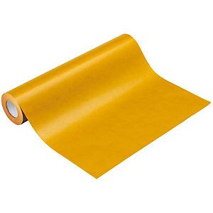 Papel de regalo Kraft en bobina - Amarillo
