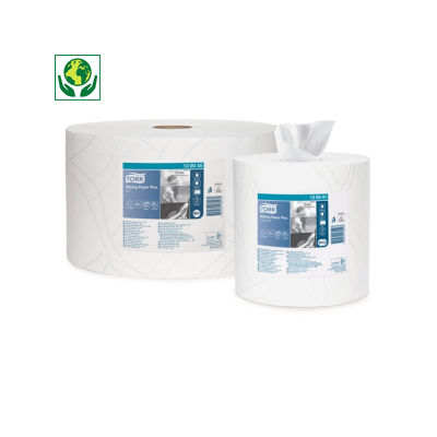 Papel de secado industrial Plus TORK