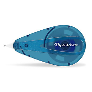 Paper Mate Correttore a nastro Mini, 5 mm x 6 m, Azzurro (confezione 10 pezzi)