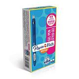 Paper Mate InkJoy® stylo à encre gel rétractable, pointe moyenne de 0,7mm, corps bleu translucide avec zone de préhension, encre bleue