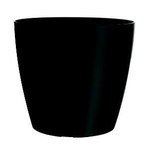 Paperflow Maceta de polipropileno, 25 (ø) cm, color antracita